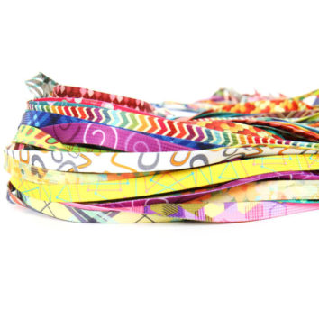 Shoelaces printed
